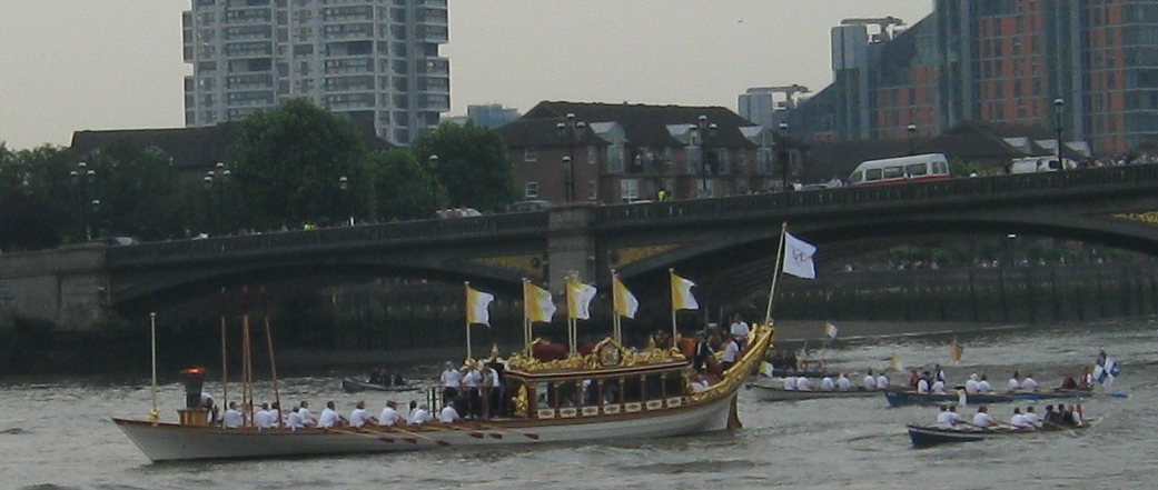 Olympic Flame Barge