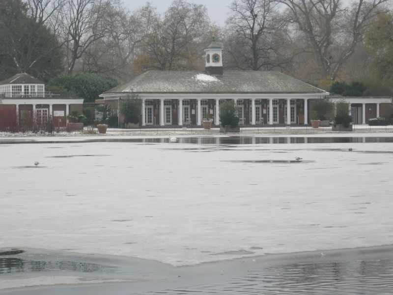 Icy Hyde Park