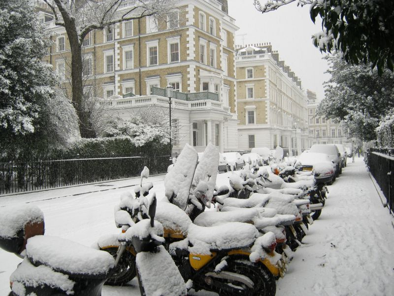 Snow in London Town